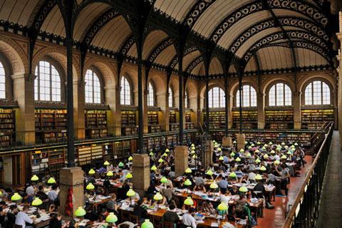 Thư viện Sainte-Geneviève, Đại học Paris