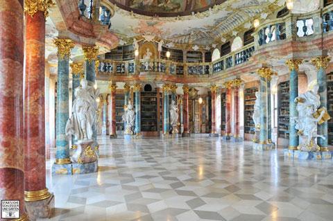 Thư viện của tu viện Wiblingen, Đức
