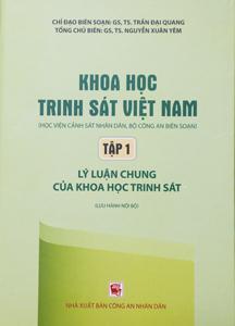Bộ sách Khoa học hình sự Việt Nam | Học viện Cảnh sát nhân dân