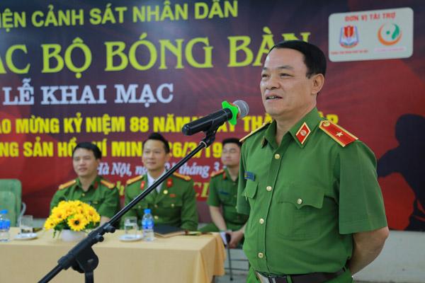 Khai mạc Giải bóng bàn chào mừng Ngày thành lập Đoàn TNCS Hồ Chí Minh