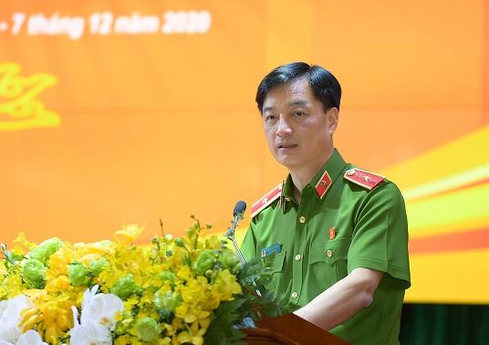 Thứ trưởng Nguyễn Duy Ngọc phát biểu tại Hội nghị.