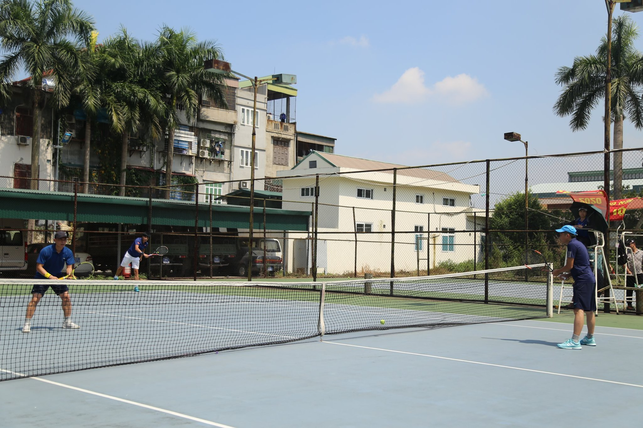 Nội dung thi đấu tennis