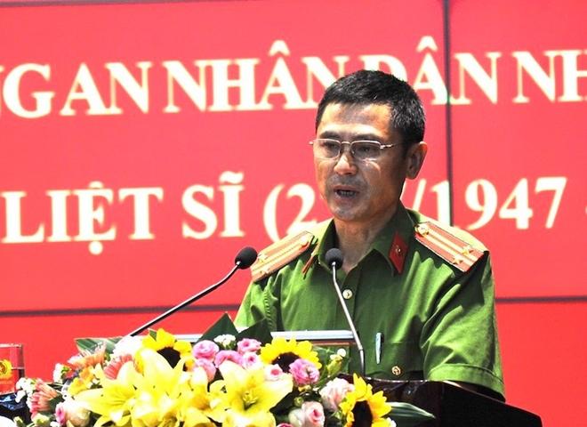 Trung tá Nguyễn Công Hưng.